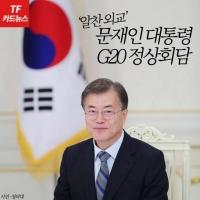 [TF카드뉴스] 'G20 참석' 文대통령, '릴레이' 정상회담 결과는?