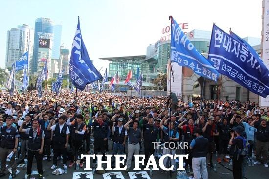 현대자동차 노조가 파업 찬반투표를 가결했다. 노조는 이르면 18일부터 합법적으로 파업할 수 있게 됐다. /더팩트 DB