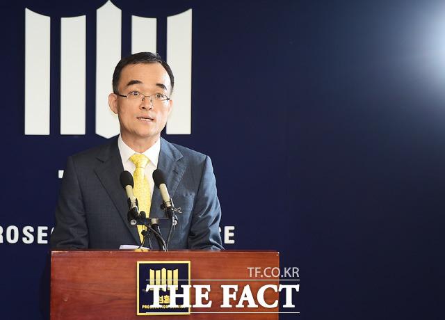 문무일 검찰총장 후보자가 현재 거주하고 있는 강남 삼풍아파트에 시세보다 절반 이상 저렴한 월세를 지급하며 3년 째 거주하고 있는 것으로 드러났다. /더팩트DB