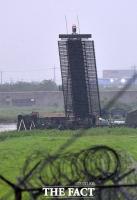 [TF포토] '대공 이동형 레이더' 배치된 주한미군 오산공군기지