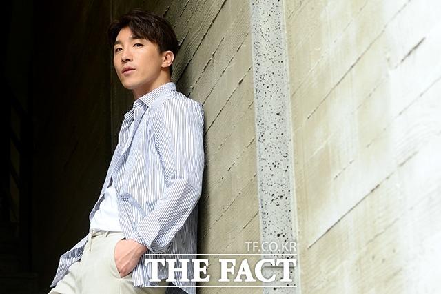 첫 번째 원동력은 가족이에요. 배우 동현배는 더팩트와 인터뷰에서 떳떳한 아들, 형이 되고 싶었다고 밝혔다. /남용희 기자