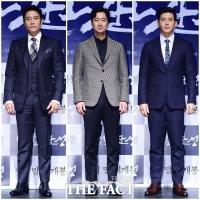 [TF포토] 이병헌-박해일-고수, '연기만큼 세련된 패션 감각'
