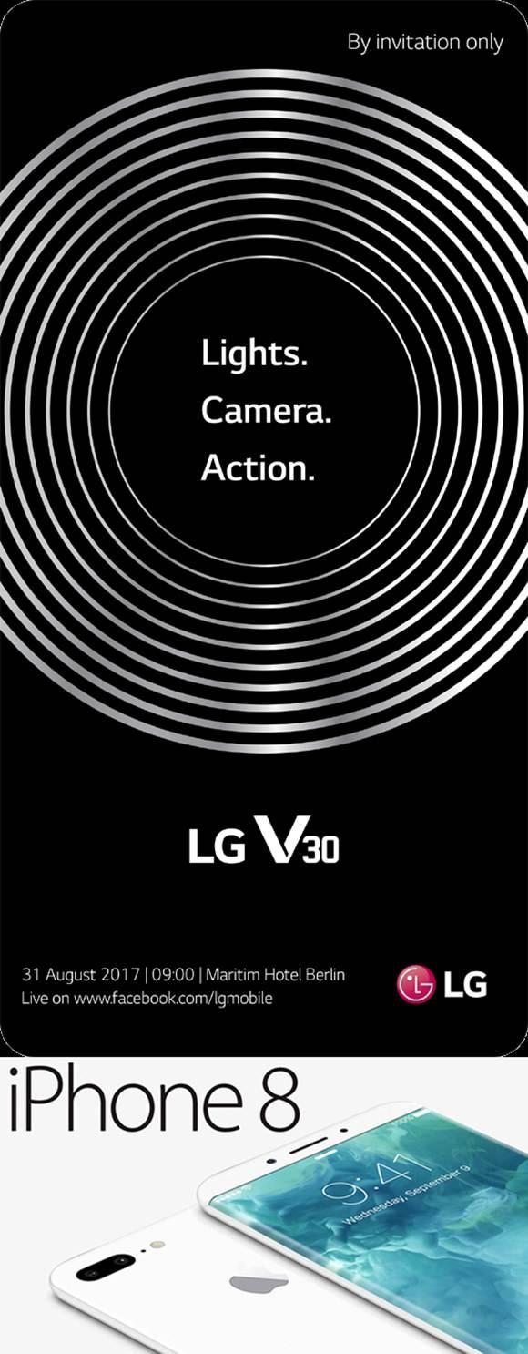 아이폰8·V30 OLED 패널 적용 전망! LCD와 차이는?