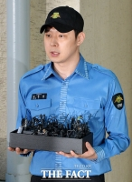 [TF포토] 말 잊지 못하는 박유천, '팬들은 눈물바다'