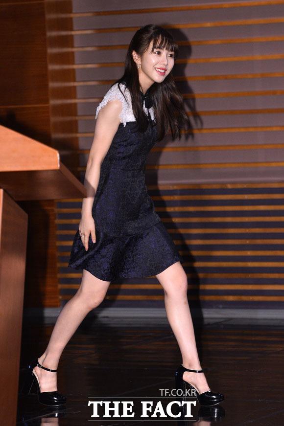 연기에 첫발 내딛는 AOA의 멤버 민아