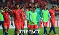 [TF화보] '유효슈팅 0' 한국, 수적 열세 이란과  졸전 끝 0-0 무승부