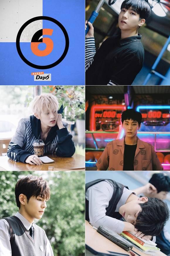 그룹 데이식스가 중국 음원사이트 쿠도우에서 한국어곡 신곡 차트 1위에 등극했다. /JYP엔터테인먼트 제공