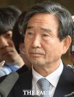 [TF포토] '굳게 닫힌 입'…검찰 출석하는 하성용 전 사장