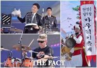 [TF포토] '바우덕이축제' 흥 돋우는 화려한 공연