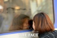 [TF사진관] '아쉬운 이별'…이제는 각자 일상으로