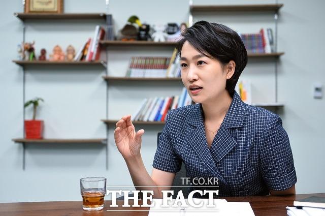 김수민 의원은 온누리상품권은 전통시장 전용 상품권으로, 대기업 프랜차이즈 매장에서 대량 유통되고 있는 것은 일반 국민시각에서 이해하기 어렵다며 이번 국정감사에서 깊이있게 다룰 것이라고 밝혔다. /남윤호 기자