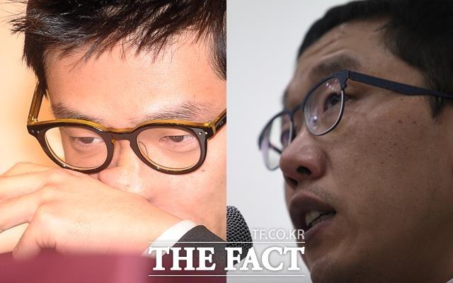가수 MC몽(사진 왼쪽)은 고의발치로 병역면제를 받았다는 의혹을 받으며 논란을 빚은 시기와 겹친다. 김제동(오른쪽)은 당시 활동에 제약을 받은 연예계 인물 중 한명이다. /더팩트 DB