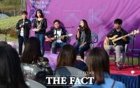 [TF포토기획] 시각장애인 밴드 '다카포', 희망을 노래하다