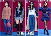 [TF포토] '우리가 패션 피플!'…패션위크 빛내는 스타들