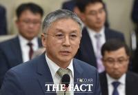[TF포토] 정무위 국감 출석한 함영준 오뚜기 회장