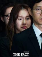 [TF포토] '고 김주혁' 옛 연인 김지수, '슬픔 가득 찬 표정'