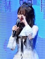 [TF포토] '눈물의 데뷔' 김소희, '매력 넘치는 쇼케이스'