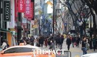 [TF사진관] '돌아온 유커, 얼어붙은 명동거리에 봄이 왔다!'