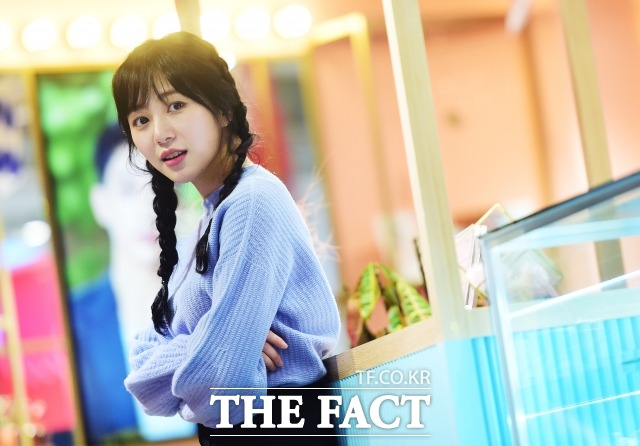 그룹 AOA 멤버 겸 배우 민아는 지난 2일 종영된 MBC 수목드라마 병원선에서 유아림 캐릭터를 연기했다. /배정한 기자