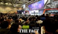 [지스타 2017] 액토즈소프트, 함성 속 WEGL 결승전 스타트