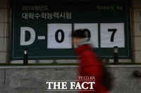 [TF포토에세이]수능 D-7…되돌아간 시계