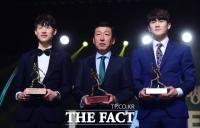 [TF포토] 전북 현대, '리그 우승과 MVP, 감독상, 신인상 4관왕!'