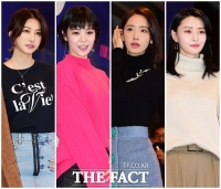 [TF포토] '예쁜애 옆에 예쁜애'…유인영-리지-윤아-나라, '미모 월드컵'