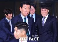 [TF포토] 'KEB하나은행 K리그 어워드 2017' 참석한 레전드 감독들