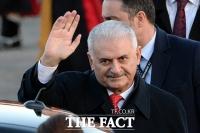 [TF포토] 이낙연 총리 초청으로 방한한 비날리 일드름 터키 총리