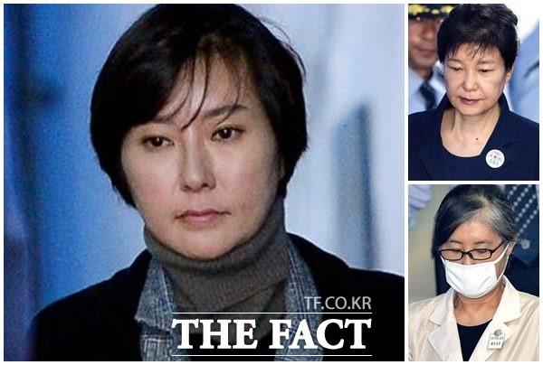박근혜 전 대통령과 최순실 씨와 공모한 혐의를 받는 장시호 씨가 검찰 구형보다 많은 형량을 받은 것에 대해 다양한 추측이 나온다. /더팩트DB