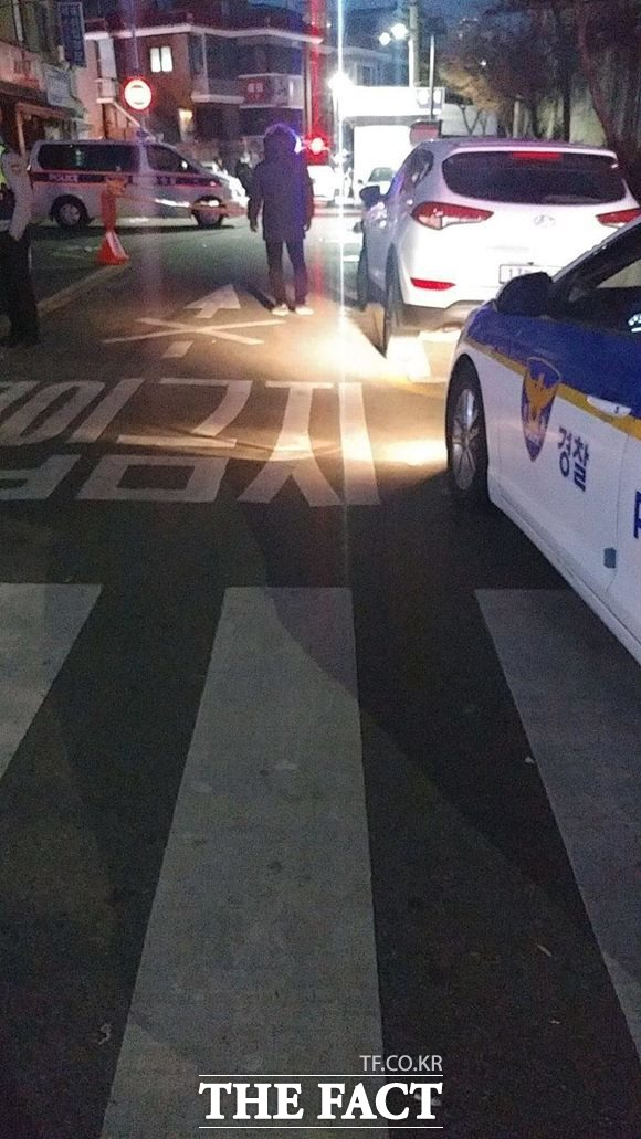 20대 중국 동포가 흉기에 찔려 숨진 대림역 인근 골목. /대림동=이성락 기자