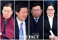 [TF포토] '구속 면한' 신동빈, '고비 넘긴 롯데가'