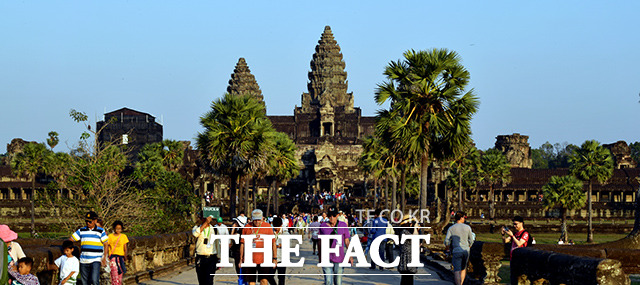 캄보디아를 대표하는 또 하나의 유적지, 앙코르와트