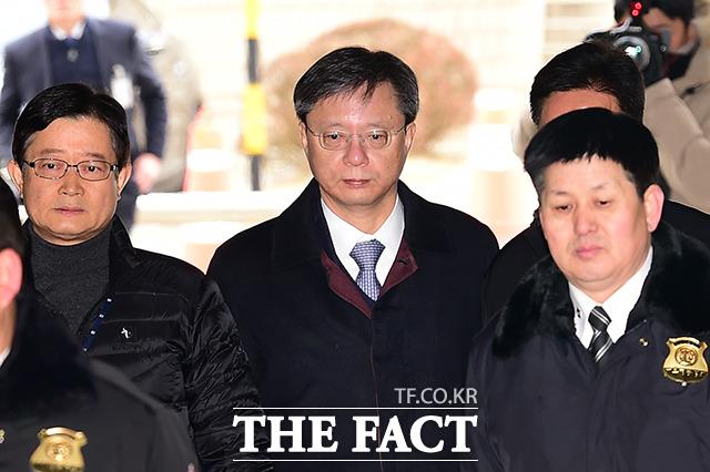 우병우 전 청와대 민정수석은 지난 15일 직권남용 권리행사방해 혐의 등으로 구속됐다. /남용희 기자