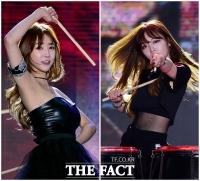 [TF포토] BJ 셀리-슈기, '아찔한 난타 공연'