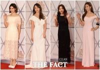 [TF포토] MBC 방송연예대상 빛낸 '화려한 스타들의 드레스'