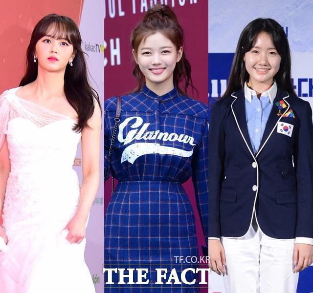 왼쪽부터 김소현, 김유정, 진지희. 세 여배우는 동갑내기다. 재미있는 사실은 셋 모두 MBC 해를 품은 달에 출연한 공통점이 있다는 것이다. /더팩트 DB