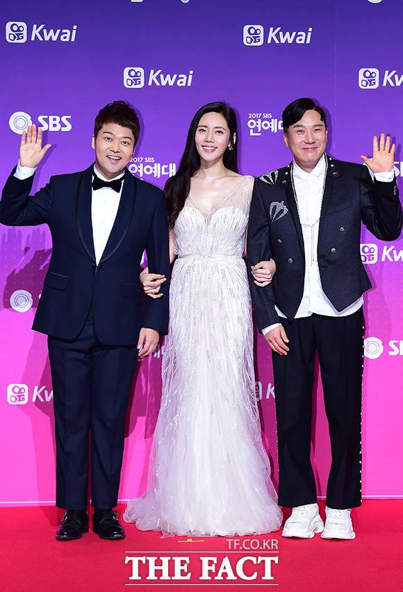 2017 SBS 연예대상을 진행할 3명의 MC