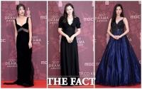 [TF사진관] MBC 연기대상 점령한 '여배우의 블랙 드레스'