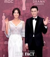 [TF포토] 4년 만에 MBC 돌아온 오상진 '김성령과 호흡'