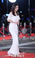 [TF포토] 임화영, '레드카펫 밟는 순백의 여신'