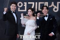 [TF포토] 박수홍-이유리-남궁민, '깔끔한 진행 기대해주세요!'