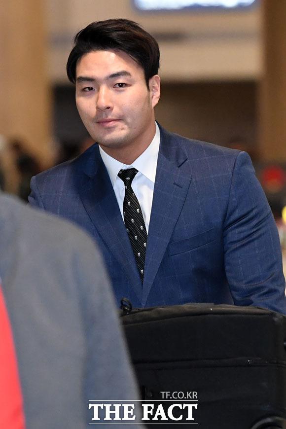 귀국하는 박병호