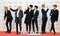 [TF포토] 방탄소년단, '우리가 K-팝의 중심'