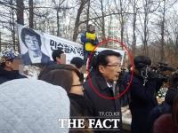 [단독] '박종철 선배' 박종운, 열사 31주기 참배