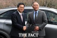 [TF포토] 현대자동차 찾은 김동연 경제부총리