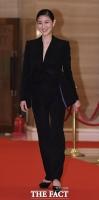 [TF포토] 김주원, '세련된 블랙 슈트 패션~'