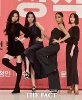 [TF포토] '겟잇뷰티 2018' 빛내는 올블랙 미녀들