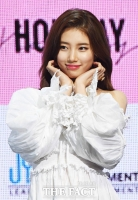 [TF포토] '예쁘다 예뻐!'…수지, '활짝 핀 꽃미모!'
