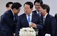 [TF포토] 중재파 박주선, '기로에서 통합으로 선택'